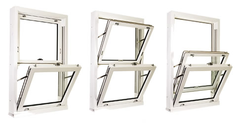 This stunning double glazed vertical sliding sash window offers easy clean tilt functuion to reduce the risk of falling