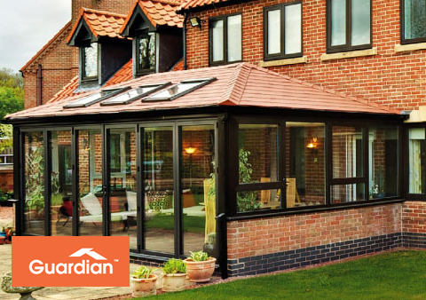 a superior roof system which helps maintain a constant temperature in your conservatory