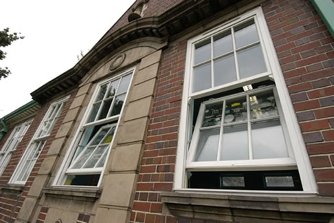 We fit vertical sliding sash windows in your area
